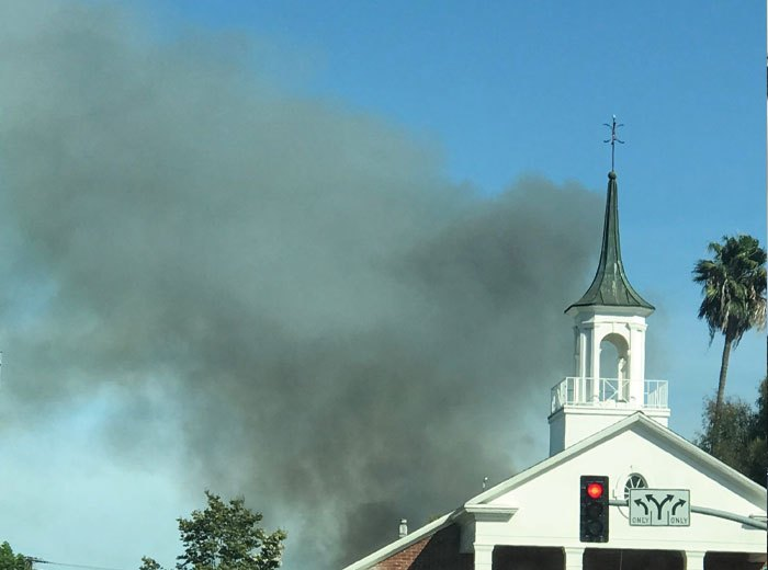 Fire-near-a-Glendale-Church-Sunday-August-25-2019-Photo-by-Jen-Hase-and-Ted-Amoroso